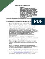 Projeto de Lei n 667-2015