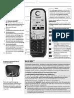 Manual Gigaset a415_ES