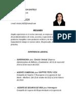Cv Marisol Aguinaga Gastelo