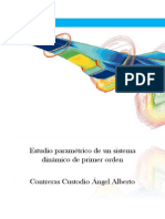 Estudio Paramétrico de Un Sistema Dinámico de Primer Orden