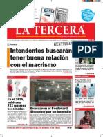 Diario La Tercera 25.11.2015