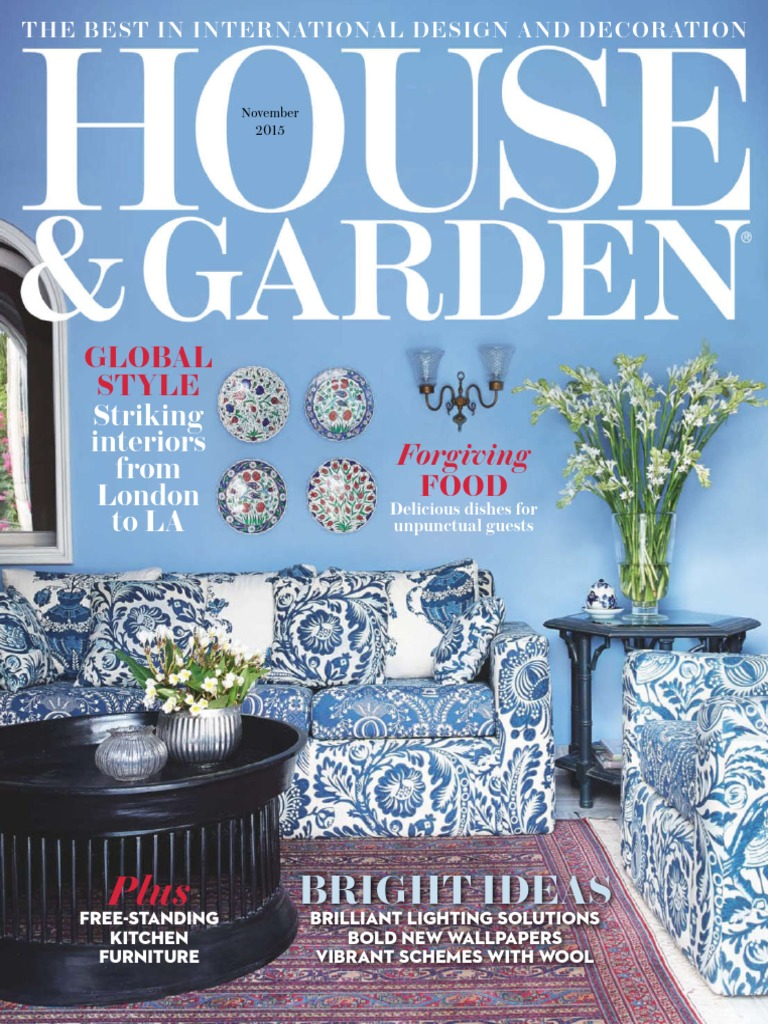House & Garden - November 2015 UK | Vogue (Magazine) | Newspaper And ...
