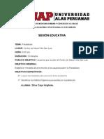 Sesion Educativa