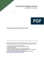 Econ Cover Sheet