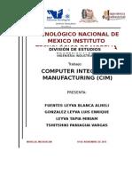 La Manufactura Integrada Por Computadora