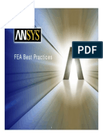 FEA Best Practices