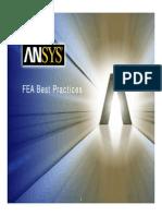 FEA Best Practices