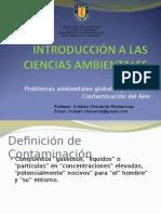 CLASE 14. Problema Ambiental. Contaminacion Atmosferica