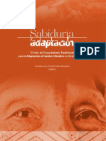 Sabiduría y Adaptación UICN 2014