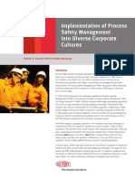 Process SafetyManagement Implementation