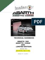Technical Handbook Abarth 500 a.C. and L.E
