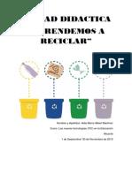Aprendemos a Reciclar (Aida Albert Martínez)