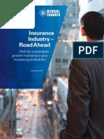 Insurance Industry Road Ahead.