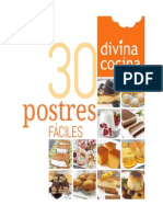 30 PostRes Divina Cocina