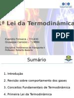 Apresentação - 1ª Lei - Termodinâmica
