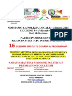 """SULPL News ○ Riccione ~ Convegno S.U.L.P.L. """"NOI SIAMO LA POLIZIA LOCALE 2015"""" il 3, 4 e 5 Dicembre 2015 ~ Il programma potrà subire leggere variazioni/modifiche/variazioni/integrazion"""