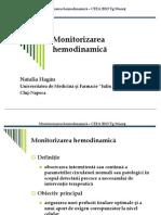 Natalia Hagau Monitorizarea Hemodianamica
