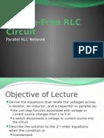 Source-Free dd RLC Circuit