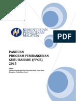 Panduan PPGB 2015