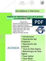 Seis Sigma proyecto