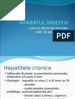 Curs 7.Aparatul Digestiv