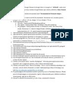 Tema - Cerinte Formatare