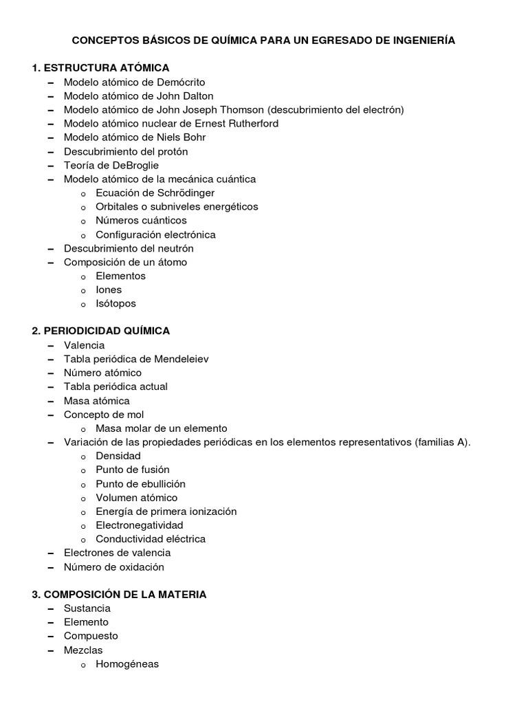 conceptos basicos de quimicacompilacionanfei - Masa Atomica Tabla Periodica Definicion