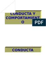 4. Conducta, Comportamiento y Motivación