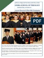 AST Newsletter, Autumn 2015