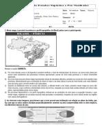 Orientação e Localização, Clima, Solo, Relevo, Vegetação Brasileiros..doc