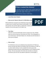 Flipkart Case Study