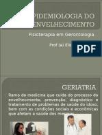 Aula 2 Geriatria - Epidemiologia