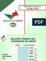EFICIENCIA DE COMBUSTION