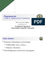 Clase Programación 8