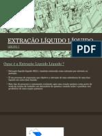 EXTRAÇÃO LÍQUIDO LÍQUIDO