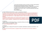 Direito Processual Civil III Caso Concreto Aula 02 Feito