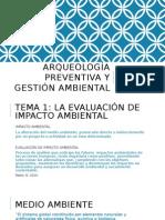 Evaluación Ambiental y Arqueología
