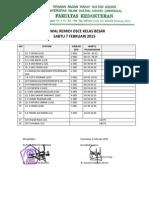 Revisi Jadwal Osce Remidi Kelas Besar 2014 - 2015