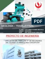 Trabajo Final Geología
