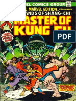 Special Marvel Edition 15 Shang Chi Master of Kung Fu