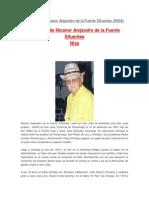 Biografia de Nicanor Alejandro de La Fuente Sifuentes