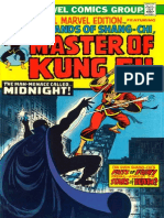 Special Marvel Edition 16 Shang Chi Master of Kung Fu
