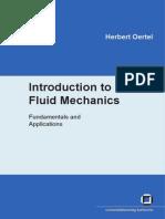 Introduction To Fluid Mechanics - Herbert Oertel