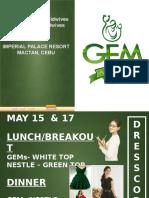 Gem Wave 2 Dresscode