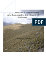 Estudio Praderas en Shullcas PRAA
