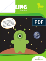 Stress Free Spelling Practice Workbook