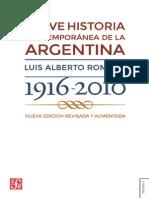 Breve Historia Contemporanea-Romero