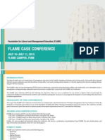 Flame Case Conference 2015