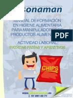 Guía Manipulación Alimentospatatas Fritas y Aperitivos