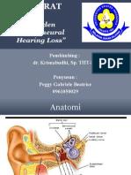 Referat Tht Sudden Sensorineural Hearing Loss Gee Ppt
